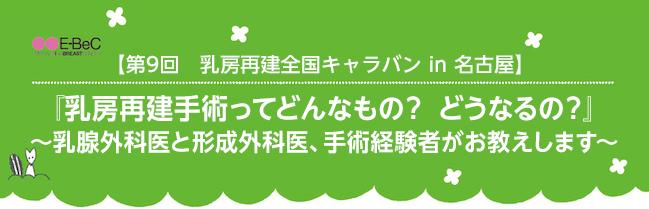 第9回 乳房再建全国キャラバン in 名古屋